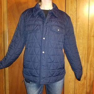 Marc New York Andrew Mark Men's Navy snap coat